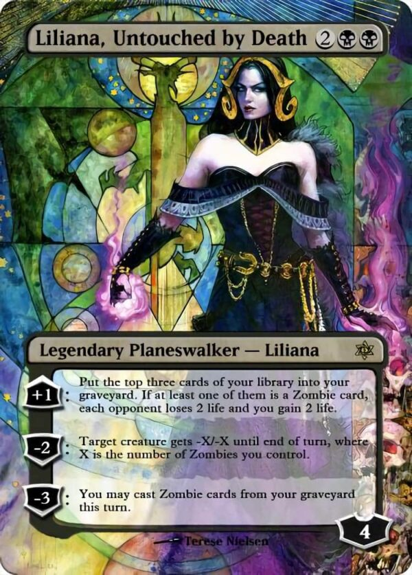 Liliana Untouched by Death - Magic the Gathering Proxy Cards