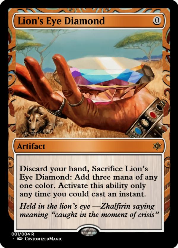 Lions Eye Diamond - Magic the Gathering Proxy Cards