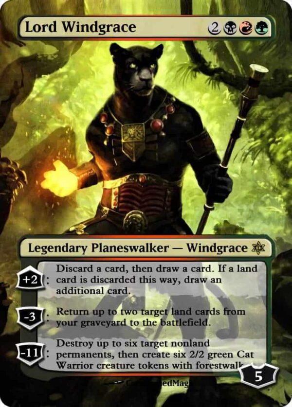 Lord Windgrace - Magic the Gathering Proxy Cards