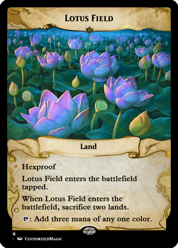Lotus Field.7 - Magic the Gathering Proxy Cards