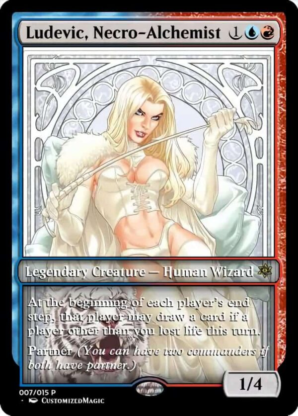 Ludevic Necro Alchemist - Magic the Gathering Proxy Cards