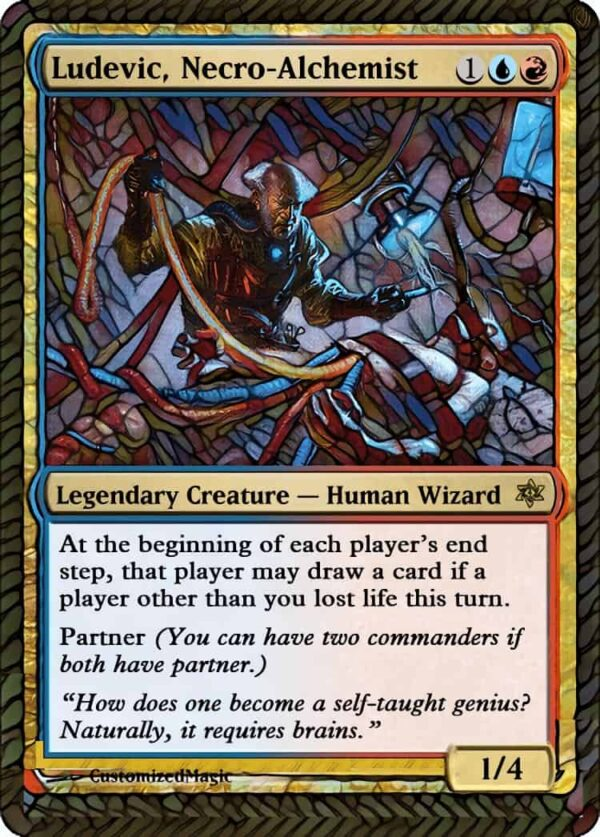 Ludevic Necro - Magic the Gathering Proxy Cards