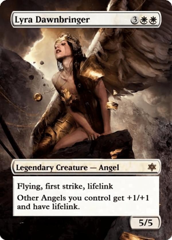 Lyra Dawnbringer 3 - Magic the Gathering Proxy Cards