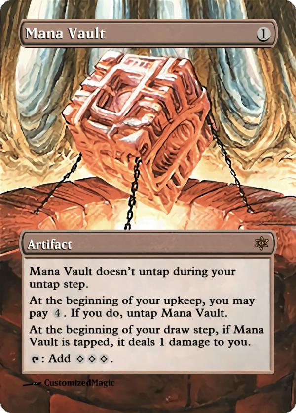 Mana Vault - Magic the Gathering Proxy Cards