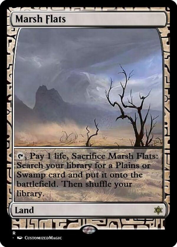 Marsh Flats - Magic the Gathering Proxy Cards