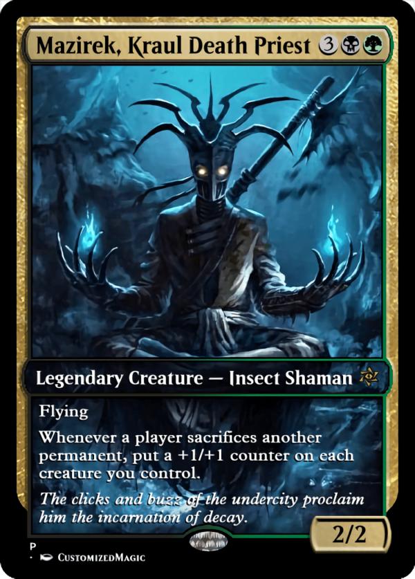 Mazirek Kraul Death Priest.3 - Magic the Gathering Proxy Cards