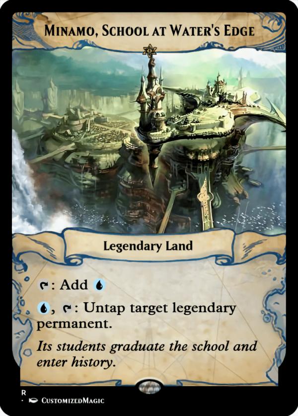 Minamo School at Waters Edge - Magic the Gathering Proxy Cards