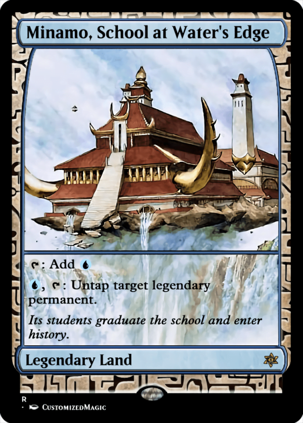 Minamo School at Waters Edge 1 - Magic the Gathering Proxy Cards