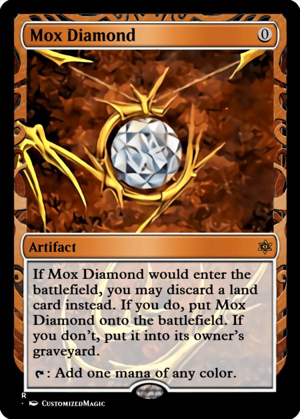 Mox Diamond - Magic the Gathering Proxy Cards
