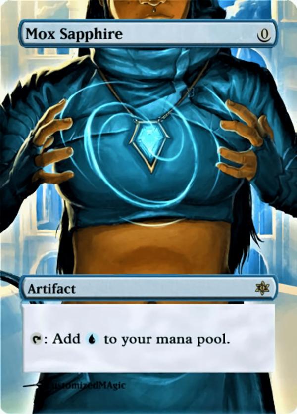 Mox Sapphire - Magic the Gathering Proxy Cards