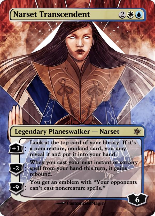 Narset Transcendent.2 - Magic the Gathering Proxy Cards