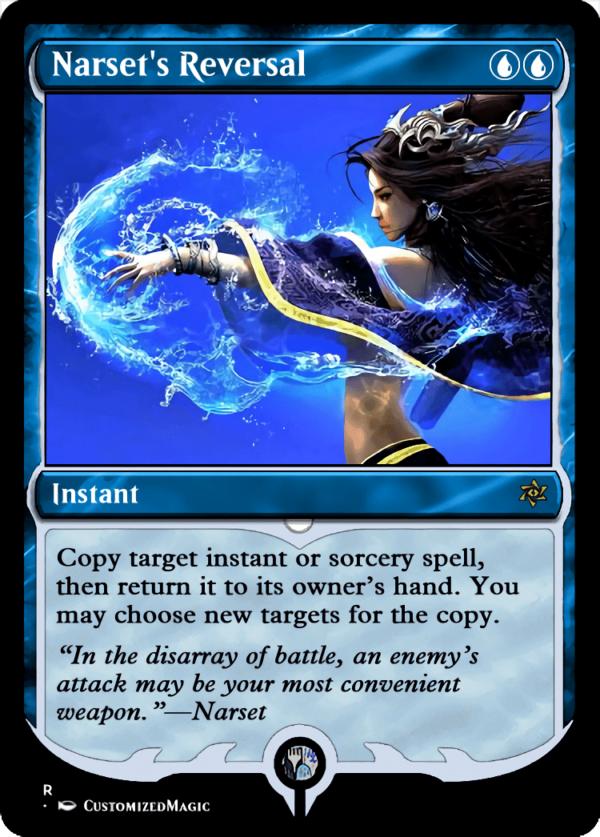 Narsets Reversal.2 - Magic the Gathering Proxy Cards