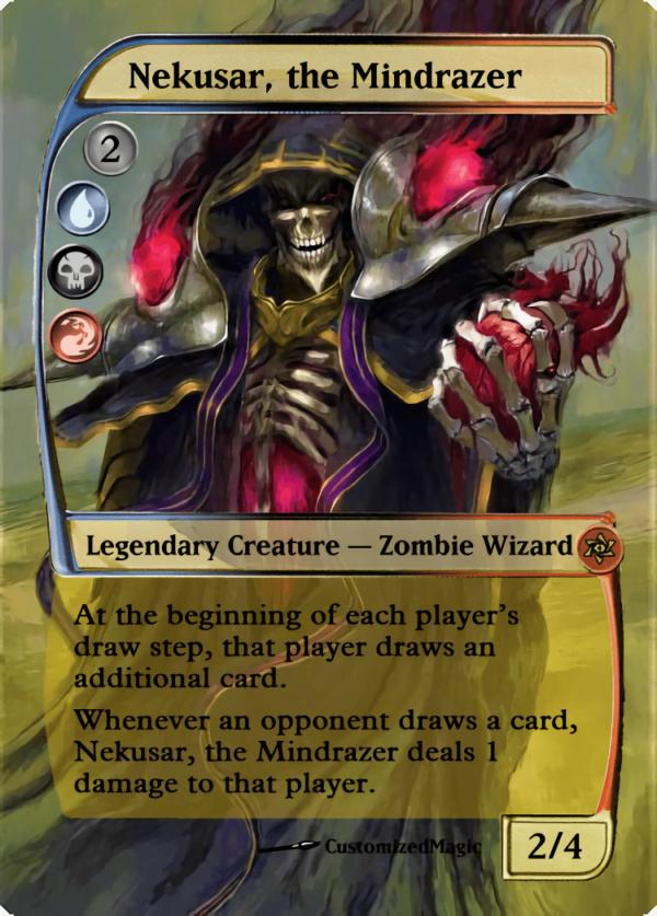 Nekusar the Mindrazer.1 - Magic the Gathering Proxy Cards