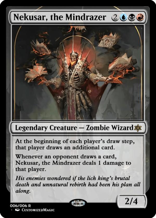 Nekusar the Mindrazer.6 - Magic the Gathering Proxy Cards