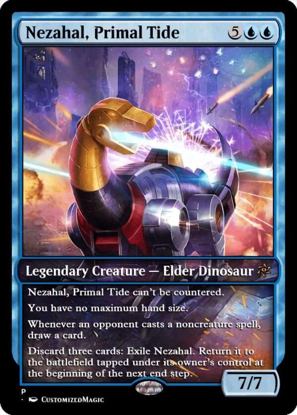 Nezahal Primal Tide - Magic the Gathering Proxy Cards