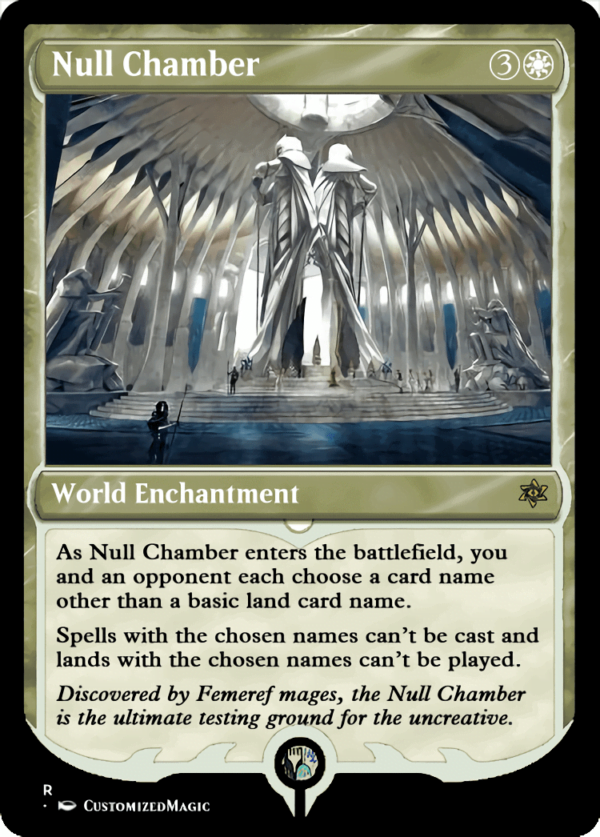 Null Chamber.2 - Magic the Gathering Proxy Cards