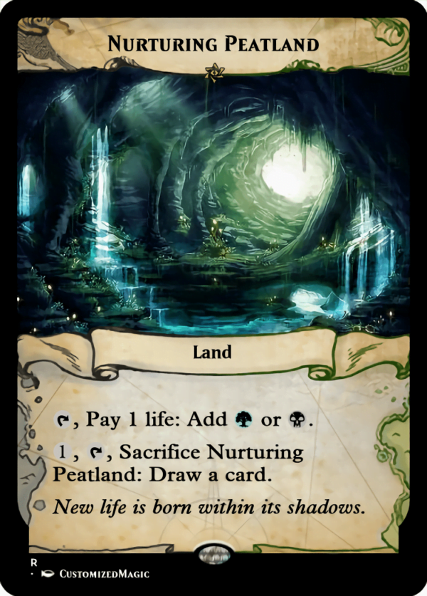 Nurturing Peatland - Magic the Gathering Proxy Cards