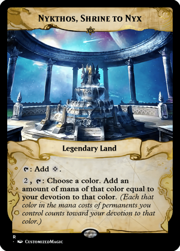 Nykthos Shrine to - Magic the Gathering Proxy Cards