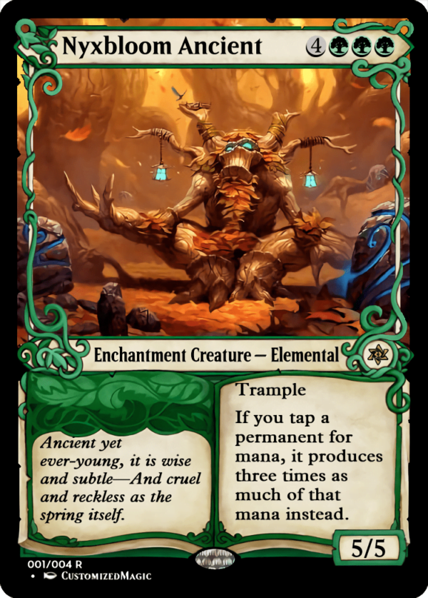 Nyxbloom Ancient - Magic the Gathering Proxy Cards