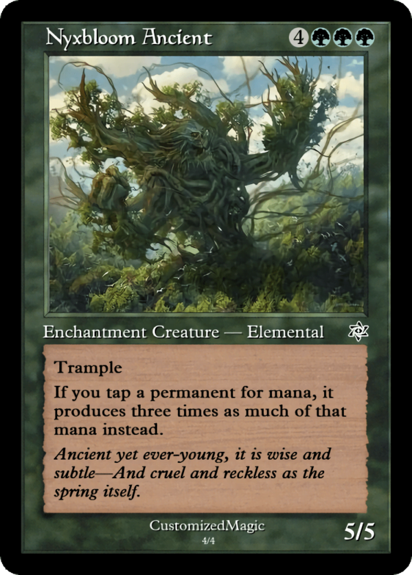 Nyxbloom Ancient.4 - Magic the Gathering Proxy Cards