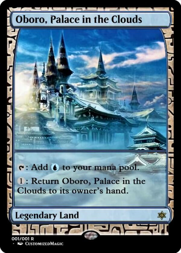 Oboro Palace in the Clouds - Magic the Gathering Proxy Cards
