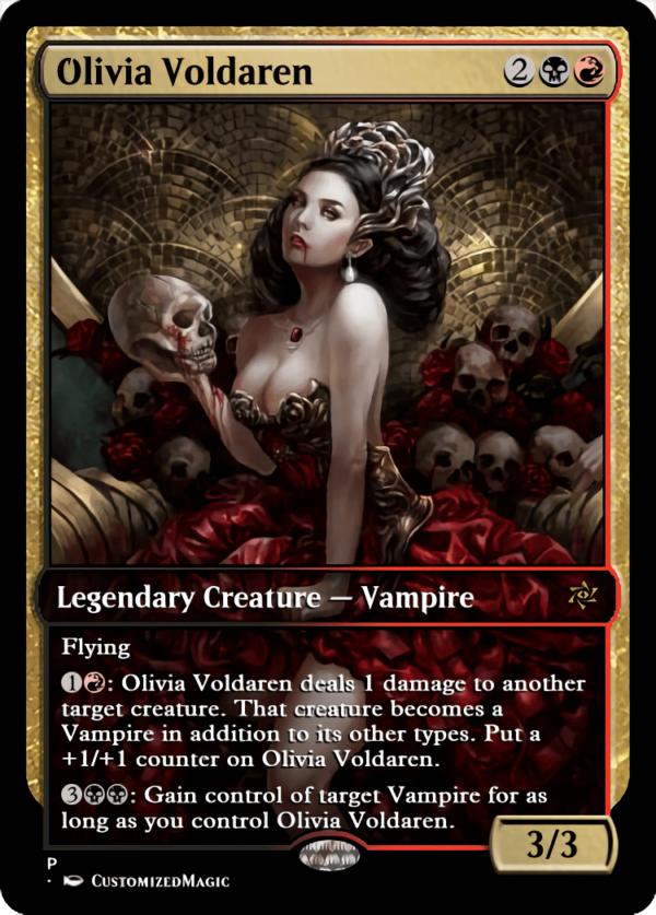 Olivia Voldaren - Magic the Gathering Proxy Cards