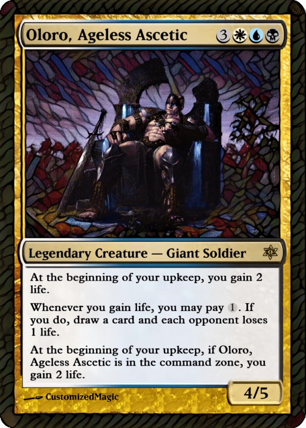 Oloro Ageless Ascetic.1 - Magic the Gathering Proxy Cards