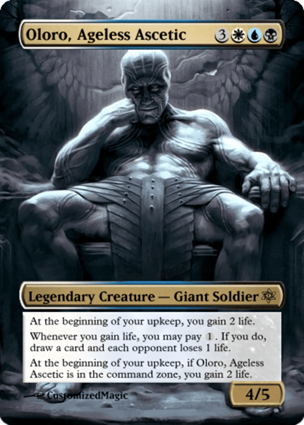 Oloro Ageless Ascetic.11 - Magic the Gathering Proxy Cards