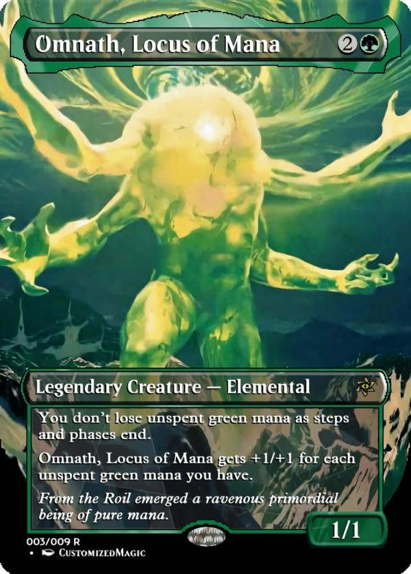 Omnath Locus of Mana - Magic the Gathering Proxy Cards