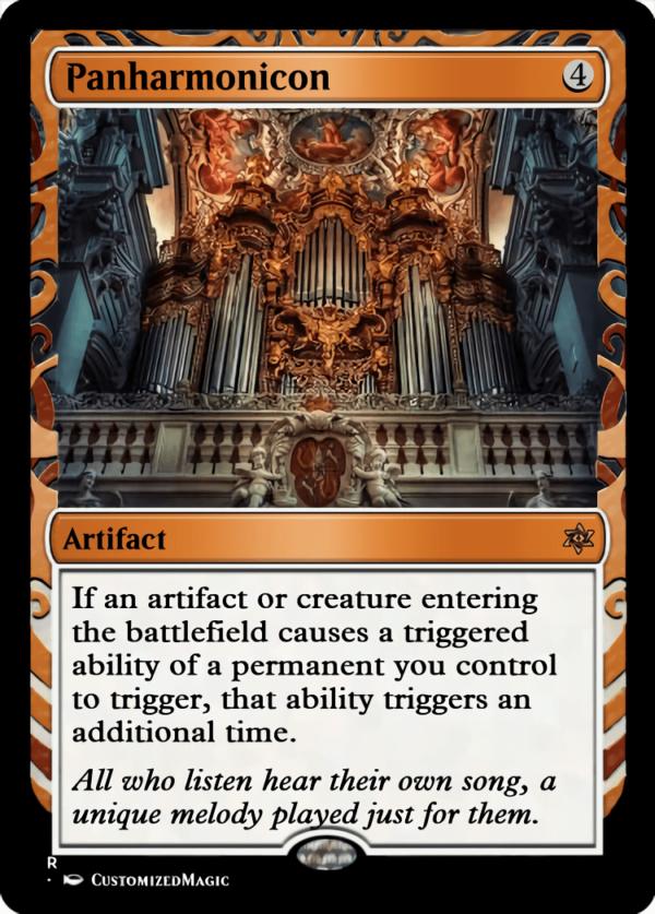 Panharmonicon.4 - Magic the Gathering Proxy Cards