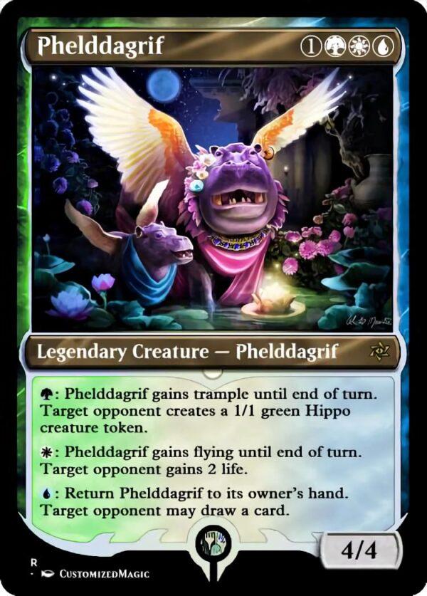 Phelddagrif - Magic the Gathering Proxy Cards