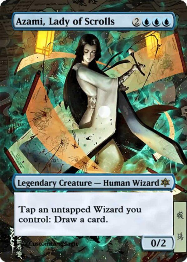 Azami, Lady of Scrolls