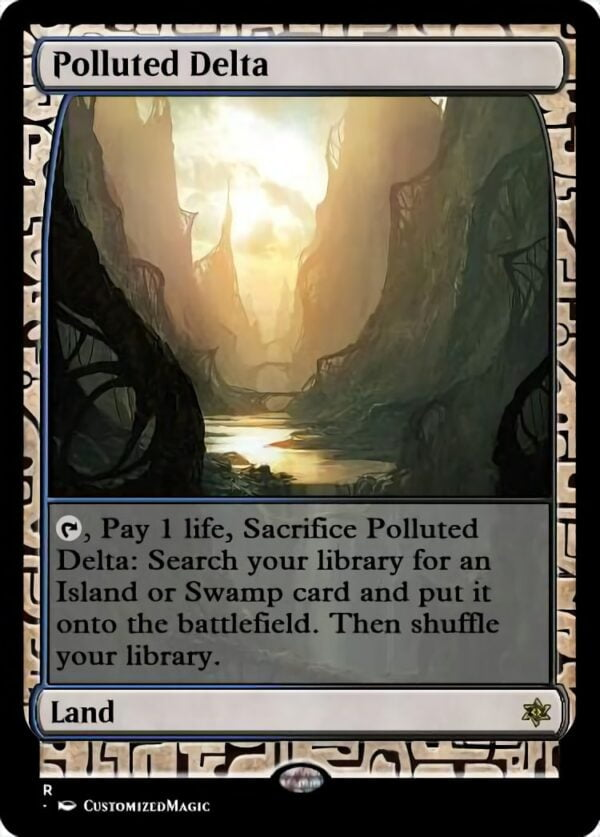 Polluted Delta - Magic the Gathering Proxy Cards