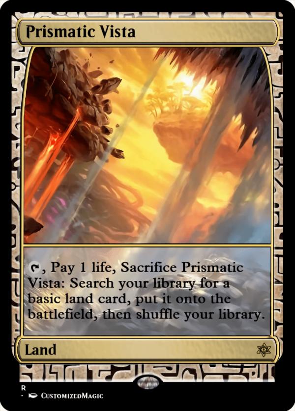 Prismatic Vista - Magic the Gathering Proxy Cards