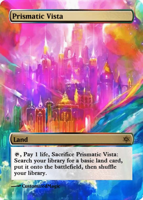 Prismatic Vista.11 - Magic the Gathering Proxy Cards
