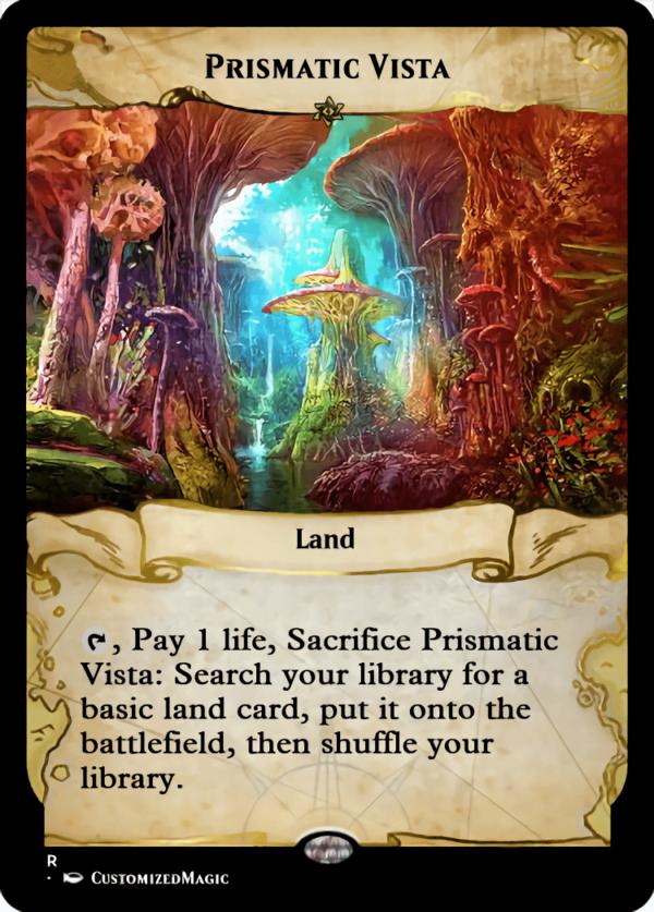 Prismatic Vista.4 - Magic the Gathering Proxy Cards