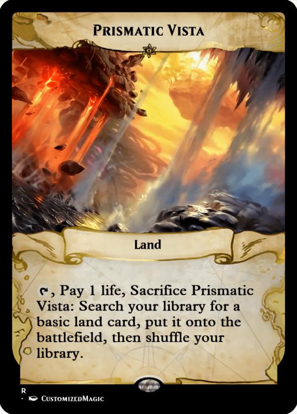 Prismatic Vista.5 - Magic the Gathering Proxy Cards