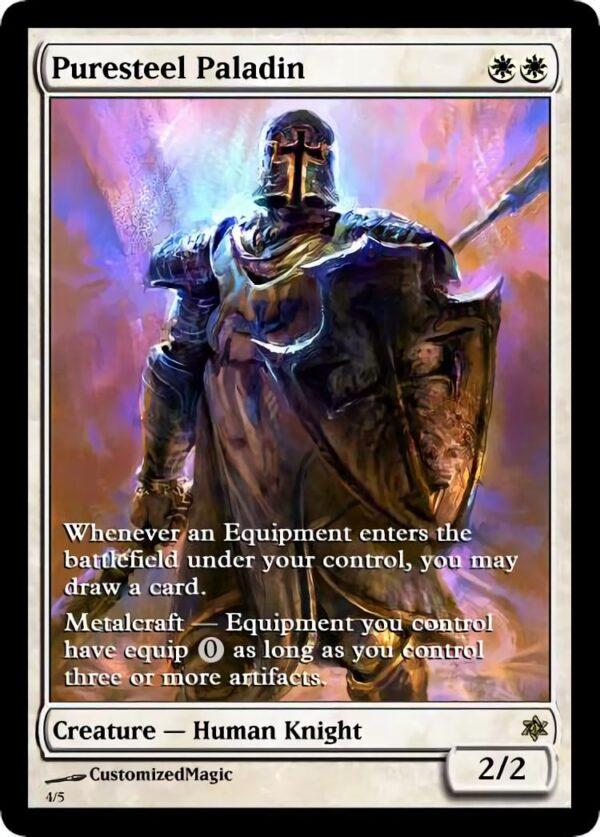 Puresteel Paladin.3 - Magic the Gathering Proxy Cards
