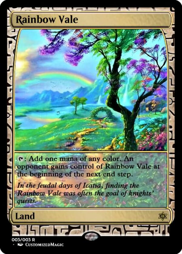 Rainbow Vale - Magic the Gathering Proxy Cards