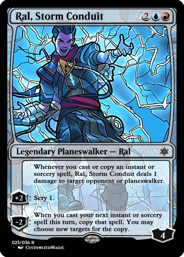 Ral Storm Conduit 1 - Magic the Gathering Proxy Cards