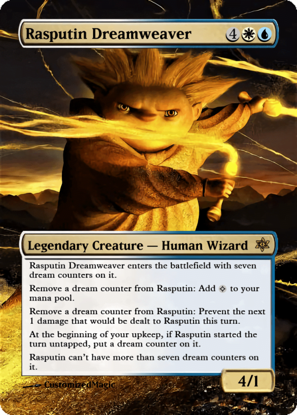 Rasputin Dreamweaver.6 - Magic the Gathering Proxy Cards