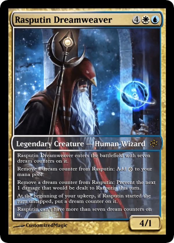 Rasputin Dreamweaver.7 - Magic the Gathering Proxy Cards