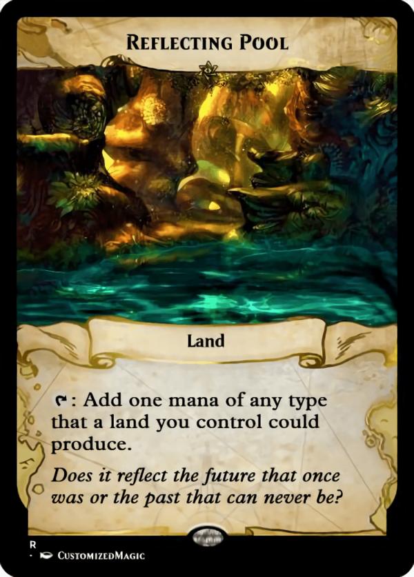 Reflecting - Magic the Gathering Proxy Cards