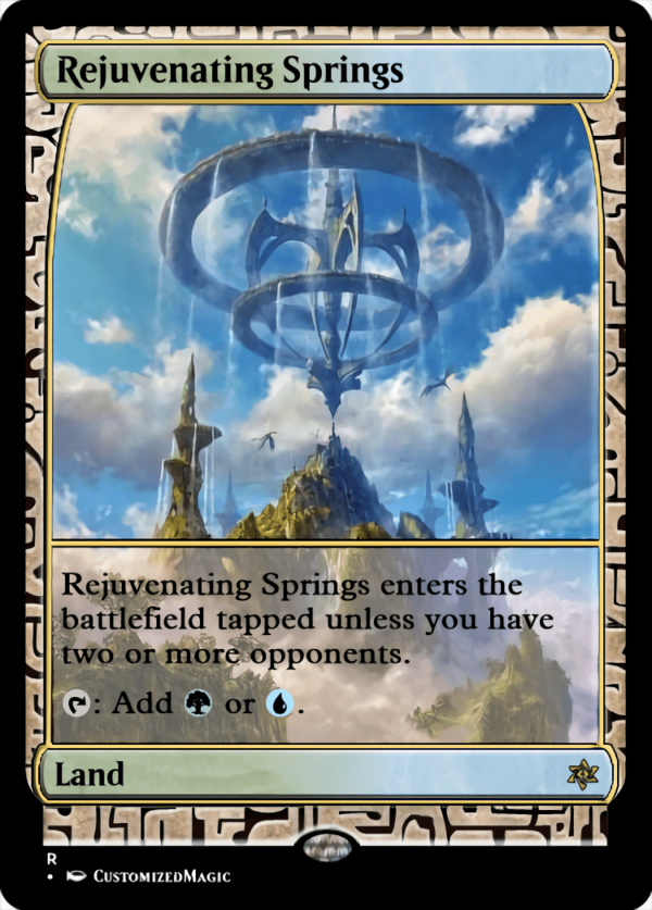Rejuvenating Springs - Magic the Gathering Proxy Cards