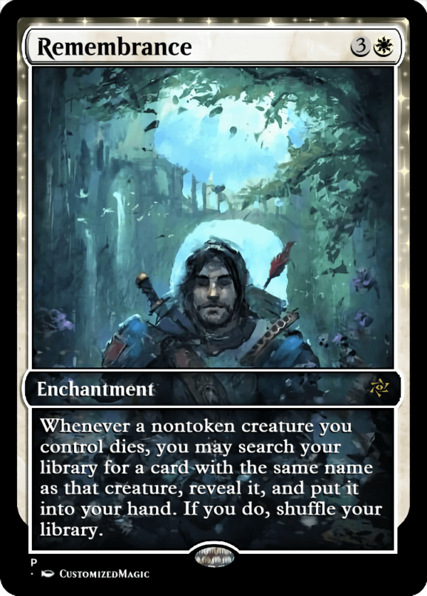 Remembrance.1 - Magic the Gathering Proxy Cards
