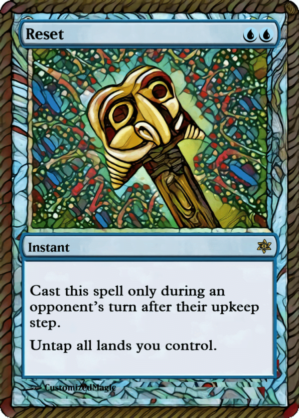 Reset - Magic the Gathering Proxy Cards