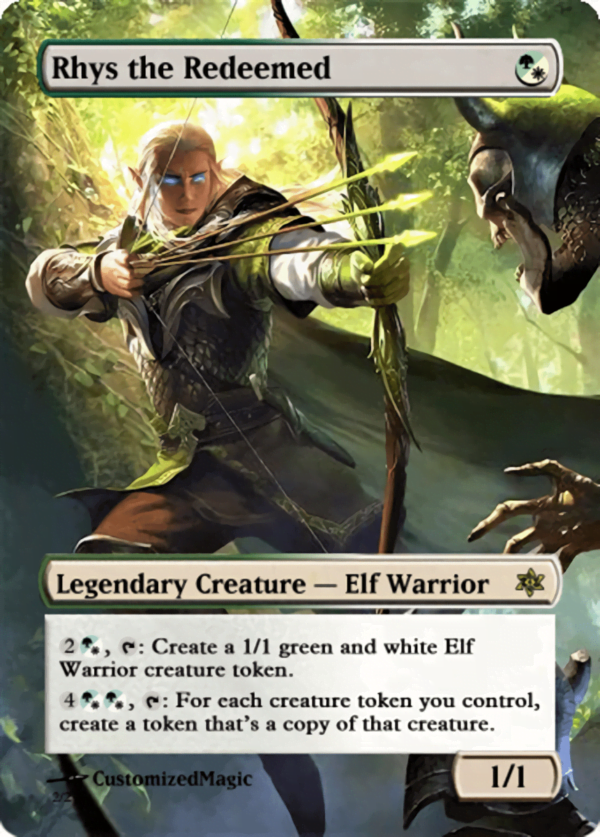 Rhys the Redeemed.12 - Magic the Gathering Proxy Cards