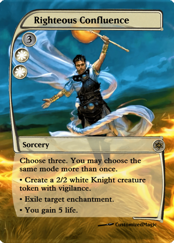 Righteous Confluence - Magic the Gathering Proxy Cards