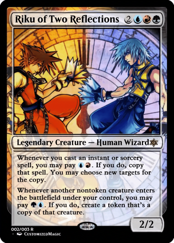 Riku of Two Reflections - Magic the Gathering Proxy Cards