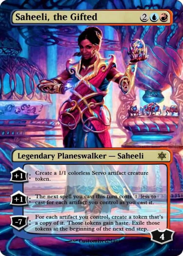 Saheeli the Gifted - Magic the Gathering Proxy Cards